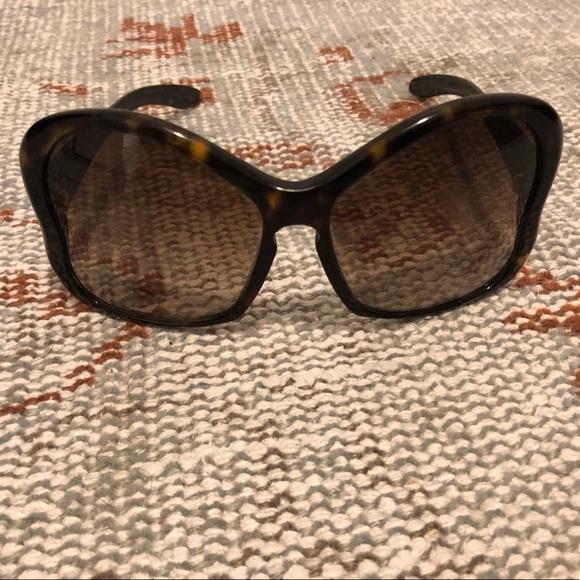 PRADA oversized butterfly gradient sunglasses!